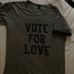 J Crew tee shirt.